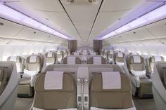 Our Business class on our new #B777_300ER   درجة الأعمال على طائراتنا من طراز B777_300ER