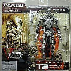 McFarlane Toys Movie Maniacs Series 5 Action Figure T-800 Endoskeleton