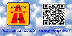 Allemagne voyage pour mobiles et tablettes - flashez le code