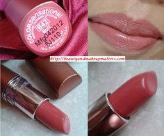 Maybelline Color Sensational Moisture Extreme Lipstick – Buff B42 Review, Swatches, LOTD