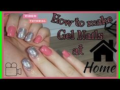 How to make Gel Nails at Home🏡 / Video Tutorial - YouTube Gel Nails At Home, The Creator, Channel, Youtube, How To Make, Youtubers, Youtube Movies