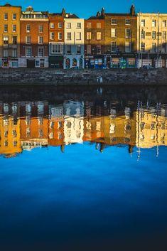 Travel Photography: Dublin, Ireland, Liffey Reflections » acalbright.com