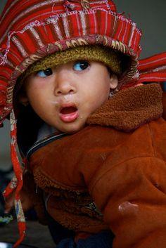 **Enfant Tharu child ethnie tribe Nepal (Philippe Guy) by guy philippe, via Flickr