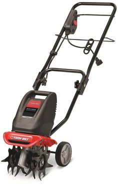 The Troy-Bilt garden cultivator combines the performance of a cultivator with the convenience of an edger for perfectly maintained beds and gardens. When shopping for a tiller or a cultivator, remember Troy-Bilt by MTD Water Garden, Lawn And Garden, Tillers For Sale, Rear Tine Tiller, Best Garden Tools, Gardening Tools, Gardening, Garten