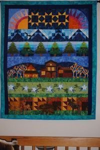Colorado quilt - sew-a-row?