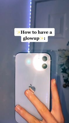 ✨How to have a glowup✨