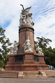 Monumento a los Franceses en la Plaza Francia,(Barrio De Recoleta), Ciudad Autonoma de Buenos Aires, Argentina