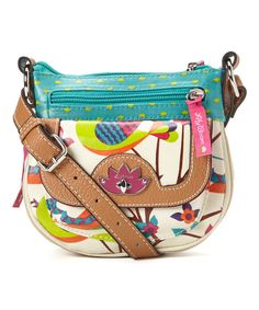 7f23f5af9309 Look at this Lily Bloom Tweety Twig Mini Pouch Crossbody Bag on  zulily  today!