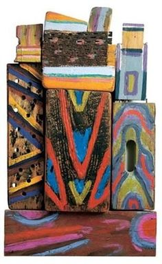 Totem Materia-R - Betty Parsons - Abstract Expressionism, Sculpture, 1980