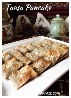 Chinese Red Bean Paste Pancake (tausa pancake or 豆沙锅饼) #guaishushu #kenneth_goh      #tausa_pancake   #豆沙锅饼