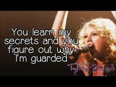 Mine (Live) - Taylor Swift - Lyrics