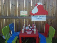 The smurfs Birthday Party Ideas | Photo 1 of 26