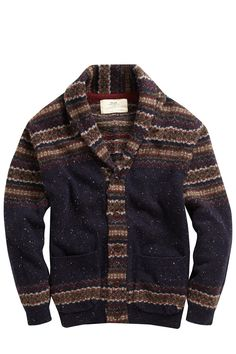 Engineered Fair Isle Cardigan - Sale - French Connection