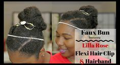 Enhance your hairstyle with Lilla Rose Flexi Hair Clip and Hairband! Lilla Rose offers unique, functional and well made hair jewelry for girls and women. relaxedthairapy.com