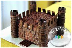 Cómo hacer un castillo de chocolate. Impresiona a los invitados con este castillo de chocolate, en Tozapping.com os enseñamos cómo hacer un castillo de