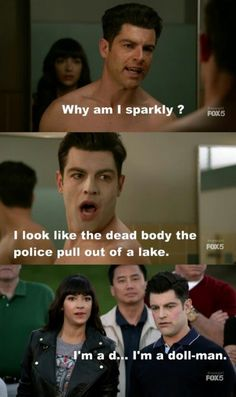 New Girl Schmidt New Girl Tv Show, Girls Show, New Girl Nick And Jess, New Girl Schmidt, New Girl Quotes, Jessica Day, A Funny, New Girl Funny, Hilarious