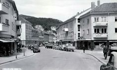 Møre og Romsdal fylke Molde Storgata 1955 Utg Normann
