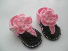 499 Best Baby Booties Child Slippers Crochetknit Images Yarns