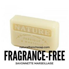 NEW - 125g Savon de Marseille Nature - Fragrance-free #frenchsoap  RT