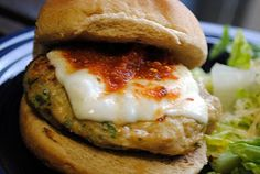 Chicken Parmesan Burger