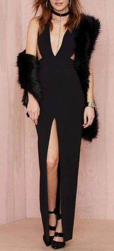 Solace London Irving Cutout Dress