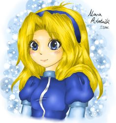 Decided I needed to practice some more shading skills - anndd I wanted to draw Maria again - drawing and colouring her hair fascinates me The hair was d. Princess Zelda, Disney Princess, Inu, Erika, Her Hair, Disney Characters, Fictional Characters, Deviantart, Drawings