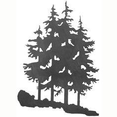 Ironwood Industries Pine Tree Rust Patina 30-Inch Wall Art - $109.95