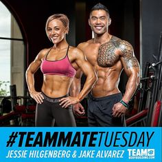 Today's #TeammateTuesday shout outs go to #TEAMBodybuildingcom Athlete's Jessie Hilgenberg @jesshilgenberg and Jake Alvarez @gerardjake!  Jessie Hilgenberg  @jesshilgenberg Jessie is an @nlaforher Sponsored Athlete health and fitness coach certified yoga instructor published writer and fitness model. Her highly popular Jessies Girl s e-books and boot camps have helped countless women get in the best shape of their lives. A dynamic athlete Jessie has been featured in several magazines and…