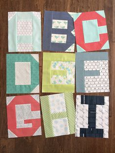 Moda alphabet blocks by croskelley, via Flickr