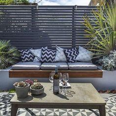 Private Small #Garden #Design                                                                                                                                                                                 More #patio