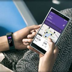 You use your fitness tracker to analyze your sleep and obsess over steps—now see how to put those health stats into perspective Health App, Health And Wellness, Fitness Tracker, You Fitness, Microsoft Band, Fitness Gadgets, Recent News, Windows Phone, Fun Workouts