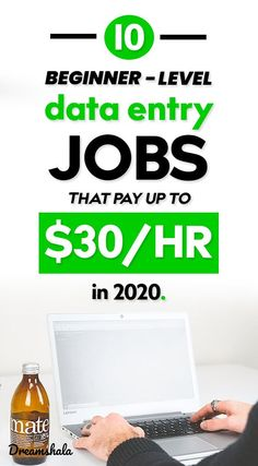 10 beginner-level data entry jobs t Earn Money From Home, Earn Money Online, Online Jobs, Way To Make Money, Money Fast, Work From Home Companies, Work From Home Jobs, Good Customer Service Skills, Legitimate Work From Home