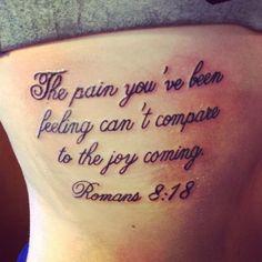 Inspiring Bible Quote Tattoo on rib Rib Tattoo Quotes, Bible Tattoos, Bible Verse Tattoos, Tattoo Quotes About Strength, Tattoo Quotes For Women, Tattoo Quotes About Life, Tattoo Thigh, Strength Tattoos, Inspiring Quotes