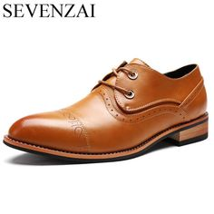 Cheap shoes brand famous, Buy Quality shoes famous directly from China shoes famous brand Suppliers: men shoes famous luxury brand leather formal office classic loafers pointed toe dress flats footwear brogue oxford shoes for men Oxford Shoes Outfit, Dress Flats, Women Oxford Shoes, Men S Shoes, Casual Shoes, Men Casual, Blue Ankle Boots, Branded Shoes For Men, Loafer Shoes