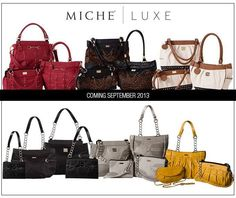 Miche September shells and Luxe   Www.amandaedwards.miche.com