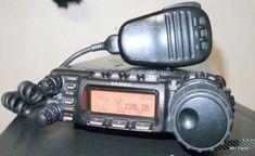 YAESU FT-857 100W HF HF band, 50 Mhz band,145 Mhz band, 433 Mhz TX