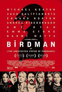 Original poster for the film Birdman