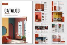 Booklet Design Layout, Catalogue Design Templates, Product Catalog Template, Catalogue Layout, Design Brochure, Brochure Layout, Layout Design, Product Catalog Design, Product Catalogue