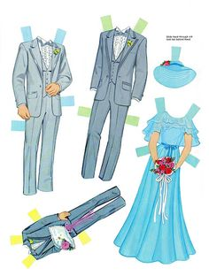 Paper Dolls~Bride and Groom - Bonnie Jones - Álbumes web de Picasa