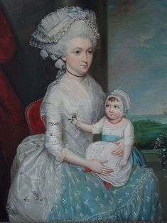 File:Margaret Whaley Hurst and her daughter Frances 1782
