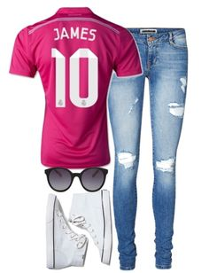 b6db38514 How to wear a football jersey .  jamesrodriguez  realmadrid