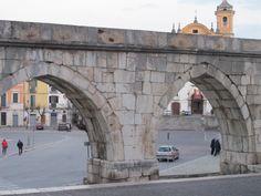 Roman Aqueduct in Sulmona, a city and comune of the province of L'Aquila in Abruzzo.