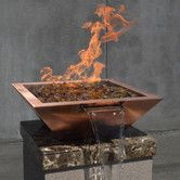 Found It At Wayfair   Copper Gas Fire Pot With Water Feature