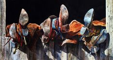 Archived Western Watercolor Paintings – American West Gallery - Nelson Boren