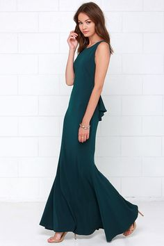 Dark teal dress what color shoes