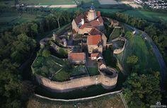Burg Breuberg    Deutschland - Odenwald - Höchst