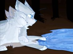 Jayfeather and Halfmoon~ prove you wrong 2:08 one of my favorite pics of Jayfeather and Half Moon <3