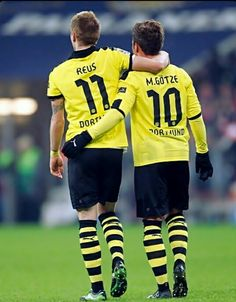The life made us friends, but soccer made us brothers. Mario Götze and Marco Reus.