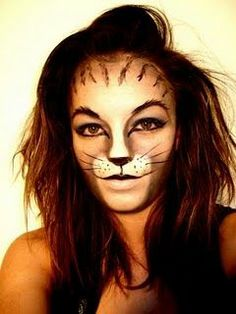 Animal Face Art, Beastly Makeup #Painting Body #Painted Body #Paint Body| http://painted-body-alexandre.blogspot.com