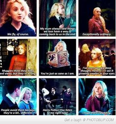 Did Anyone Else Fall Completely In Love With Luna Instead Of Hermoine...